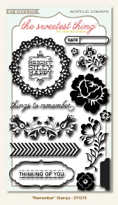 "The Sweetest Thing - Bluebell ""Remember"" Stamps"