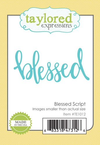 Taylored Expressions - Blessed Script