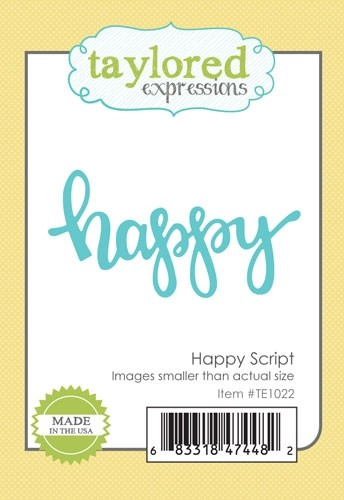 *NEW* - Taylored Expressions - Happy Script