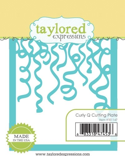 *NEW* - Taylored Expressions - Curly Q Cutting Plate
