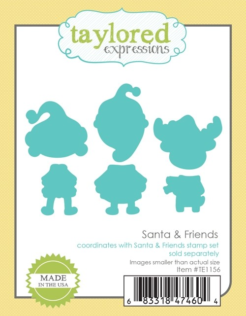 Taylored Expressions - Santa & Friends Dies