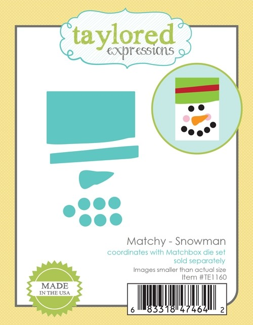 Taylored Expressions - Matchy Snowman