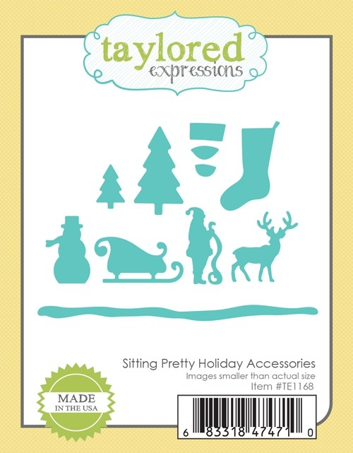 Taylored Expressions - Sitting Pretty Holiday Accessories