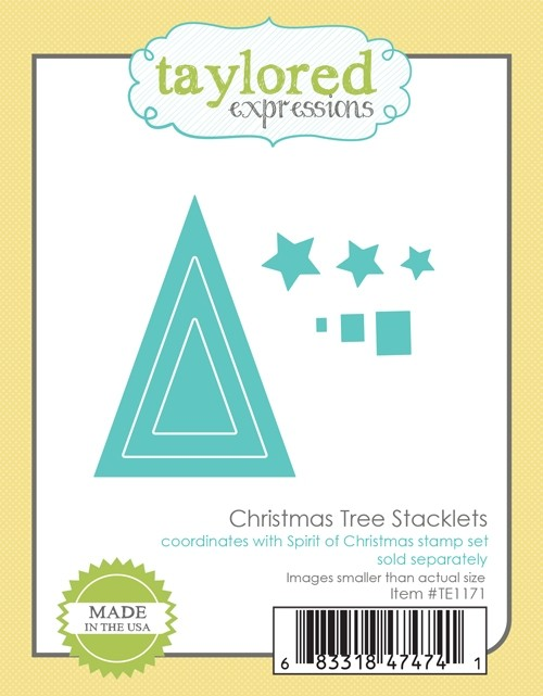 Taylored Expressions - Christmas Tree Stacklets