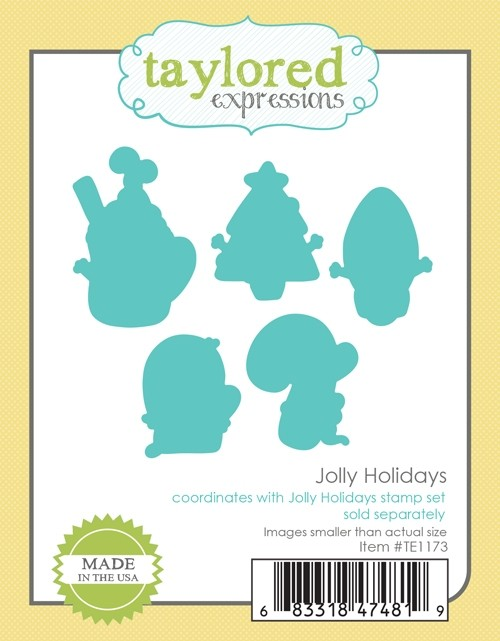Taylored Expressions - Jolly Holidays Dies