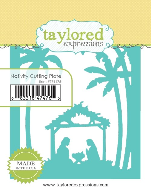 Taylored Expressions - Nativity Cutting Plate