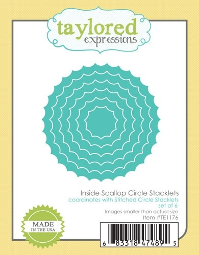 *NEW* - Taylored Expressions - Inside Scallop Circle Stacklets