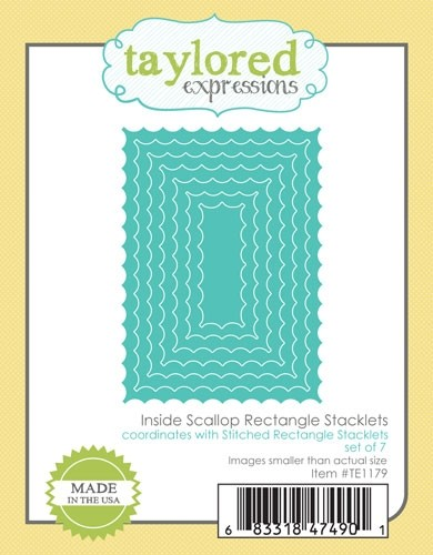 Taylored Expressions - Inside Scallop Rectangle Stacklets