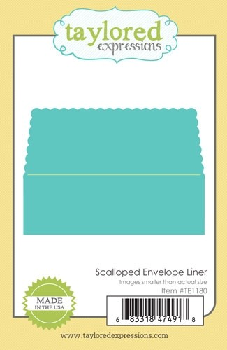 Taylored Expressions - Scalloped Envelope Liner
