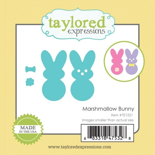 Taylored Expression - Little Bits - Marshmallow Bunny