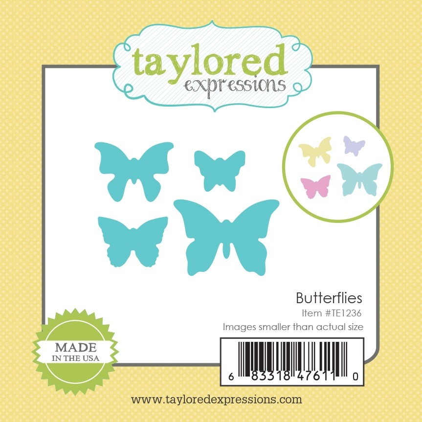 Taylored Expression - Little Bits - Butterflies
