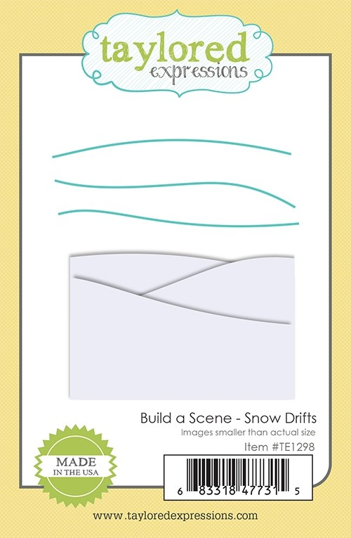 *NEW* - Taylored Expression - Build a Scene - Snow Drifts