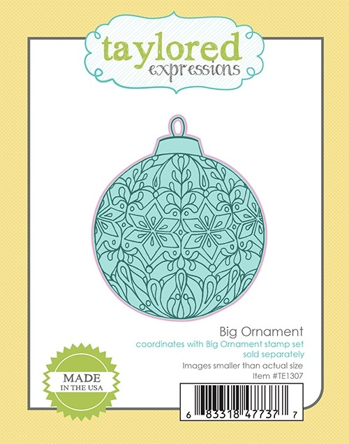 *NEW* - Taylored Expression - Big Ornament Die