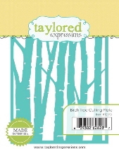 Taylored Expressions - Birch Tree Cutting Plate