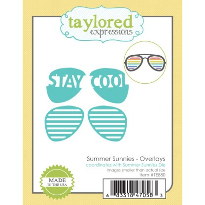 Taylored Expressions- Summer Sunnies Overlays