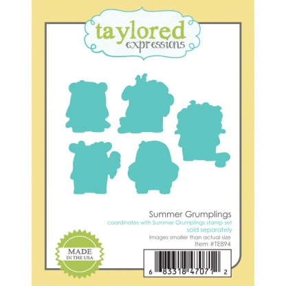 Taylored Expressions- Summer Grumplings Dies