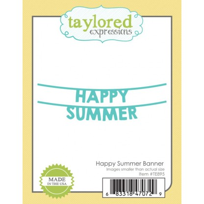 Taylored Expressions- Happy Summer Banner