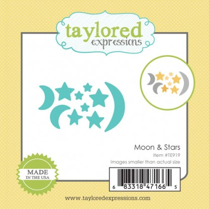 Taylored Expressions- Little Bits - Moon & Stars