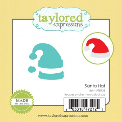 Taylored Expressions- Little Bits - Santa Hat