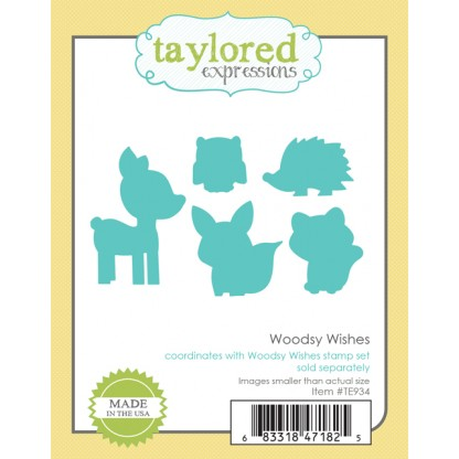 Taylored Expressions- Woodsy Wishes Dies
