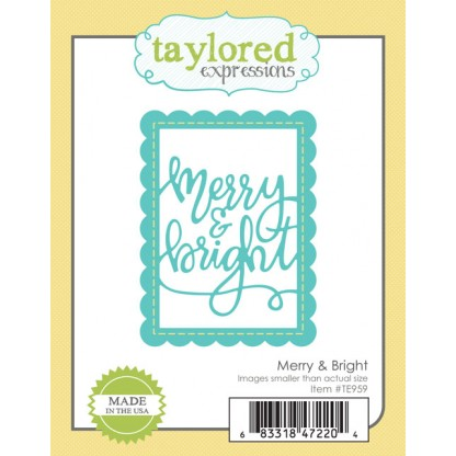 Taylored Expressions- Merry & Bright