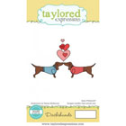 Taylored Expressions - Animals in Love - Dachshunds
