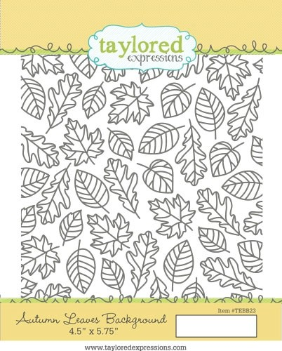 *NEW* - Taylored Expressions - Autumn Leaves Background
