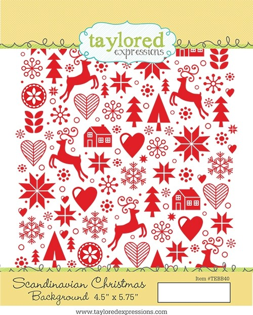 *NEW* - Taylored Expression - Scandinavian Christmas Background