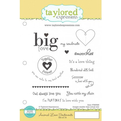 Taylored Expressions - Animal Love Sentiments