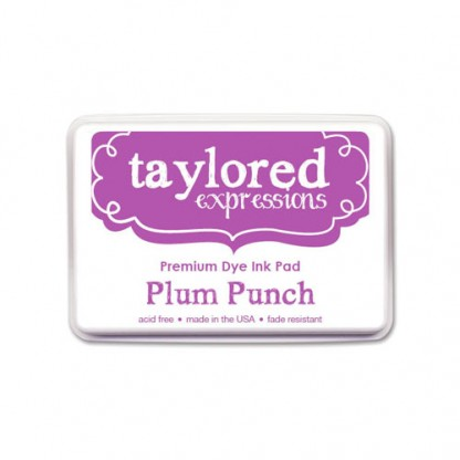 Taylored Expressions- TE Premium Ink - Plum Punch - Full Pad