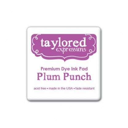 Taylored Expressions- TE Premium Ink - Plum Punch - Mini Pad