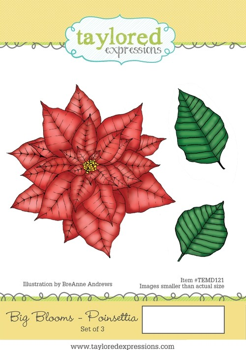 Taylored Expressions - Big Blooms - Poinsettia