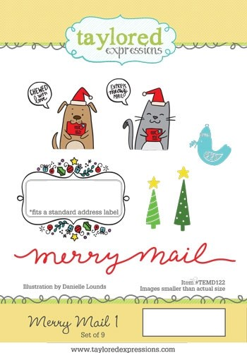 *NEW* - Taylored Expressions - Merry Mail 1