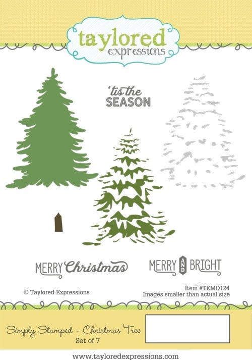 Taylored Expressions - Simply Stamped - Christmas Tree