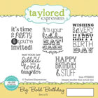 Taylored Expressions - Big Bold Birthday