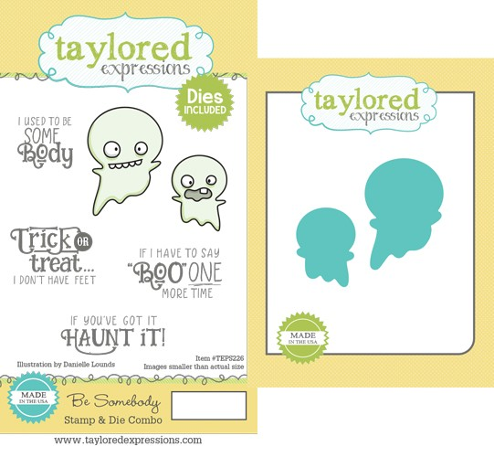 Taylored Expressions - Be Somebody Stamp & Die Combo