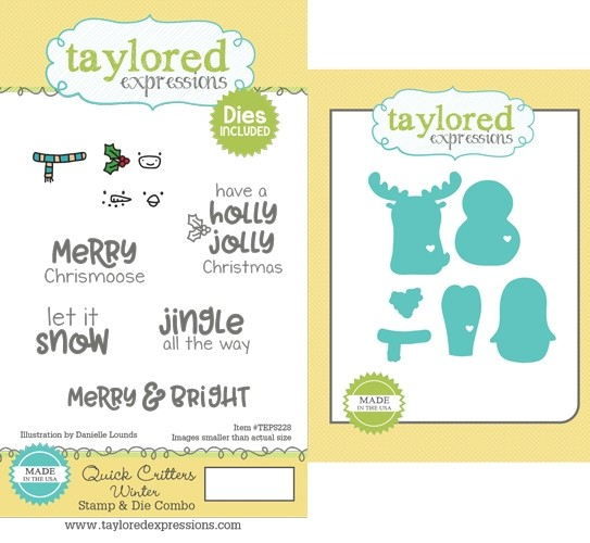Taylored Expressions - Quick Critters - Winter Stamp & Die Combo