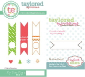 Taylored Expressions - Fly Your Flag 2 with coordinating die