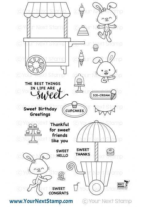 *NEW* - Your Next Stamp - Sweet Treat Cart