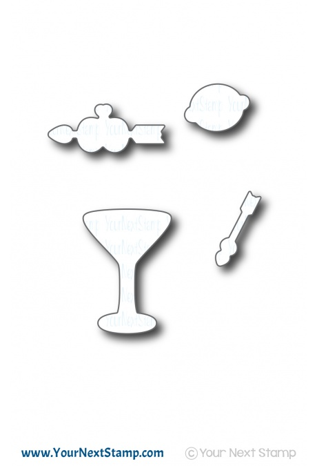 *NEW* - Your Next Stamp - Tini Sips Die Set