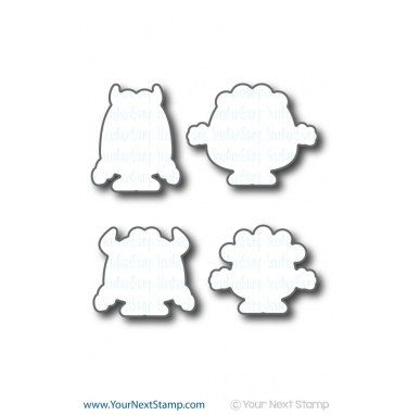 Your Next Stamp- Silly Monsters Die Set
