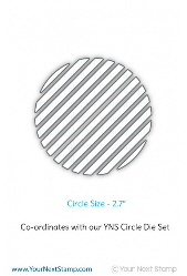 Your Next Stamp- Stripe-tastic Circle