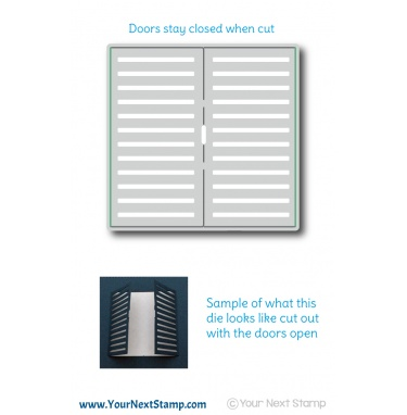 Your Next Stamp- Stripe-tastic Doors Die
