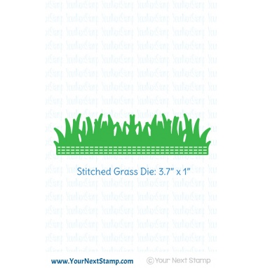 Your Next Stamp- Stitched Grass Die