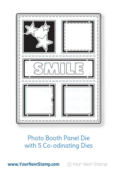 *NEW* - Your Next Stamp - Photo Booth Panel Die Set