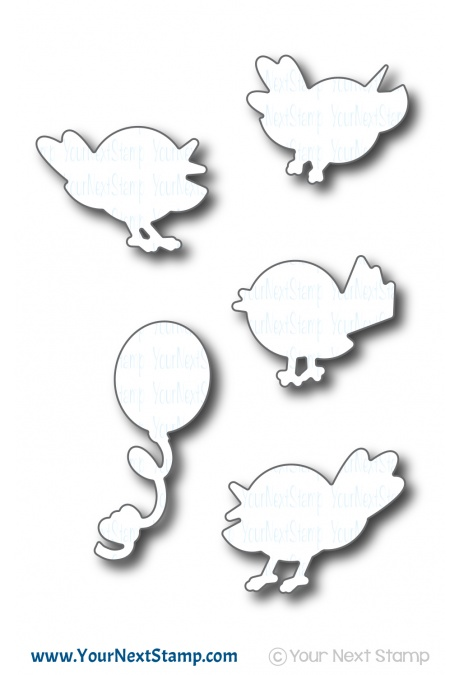 *NEW* - Your Next Stamp - Happy Bird-Day Die Set