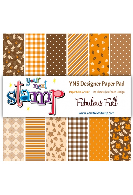 Your Next Stamp - Fabulous Fall 6x6 Paper Pad