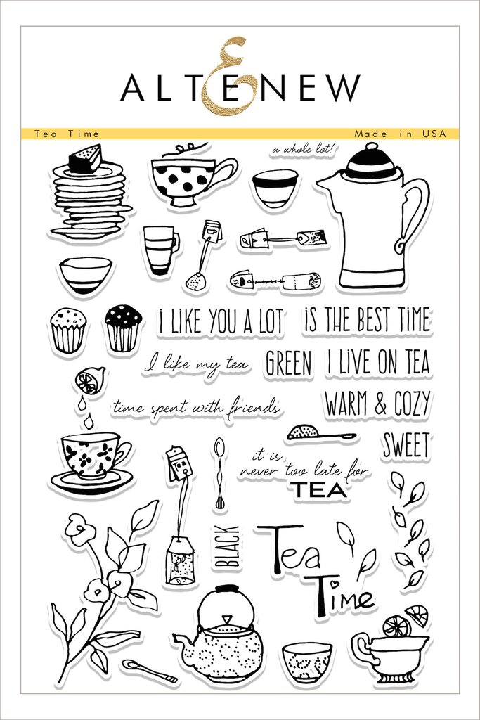AlteNew - Tea Time Stamp Set