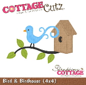 CottageCutz - Bird & Birdhouse