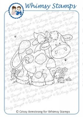 Whimsy Stamps - You Moove Me - Crissy Armstrong Collection